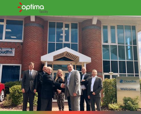 Optima facility forma una empresa conjunta con Cloudfm