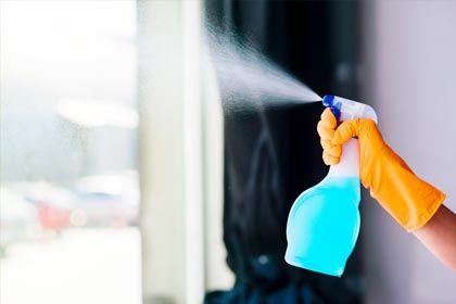 Incorporacion de protocolos de higienizacion y desinfeccion en las rutinas diarias