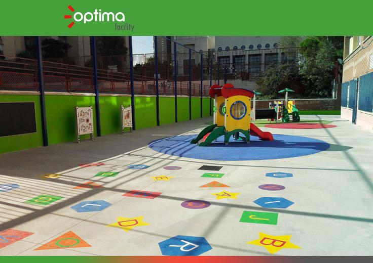 Optima seguirá al frente del servicio de limpieza en los colegios del Distrito de Latina (Madrid)